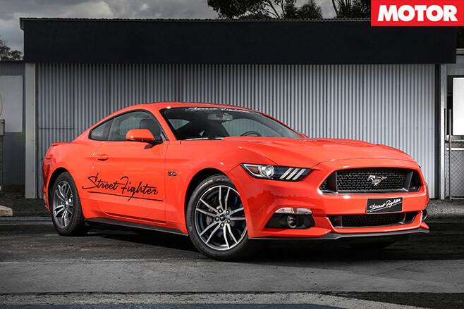 Mustang GT street fighter