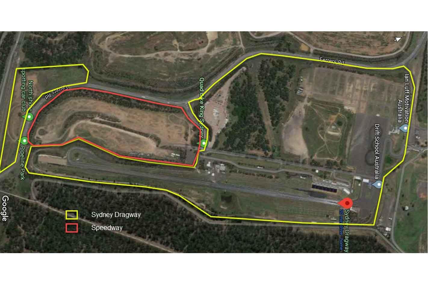 Sydney Dragway Speedway Jpg
