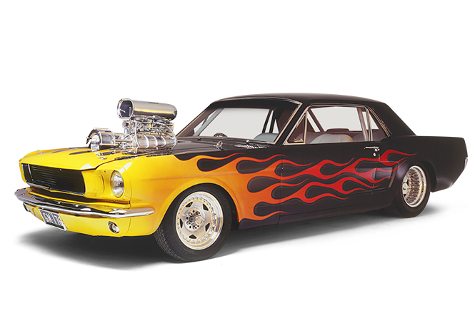 Gary Myers's Ford Mustang coupe