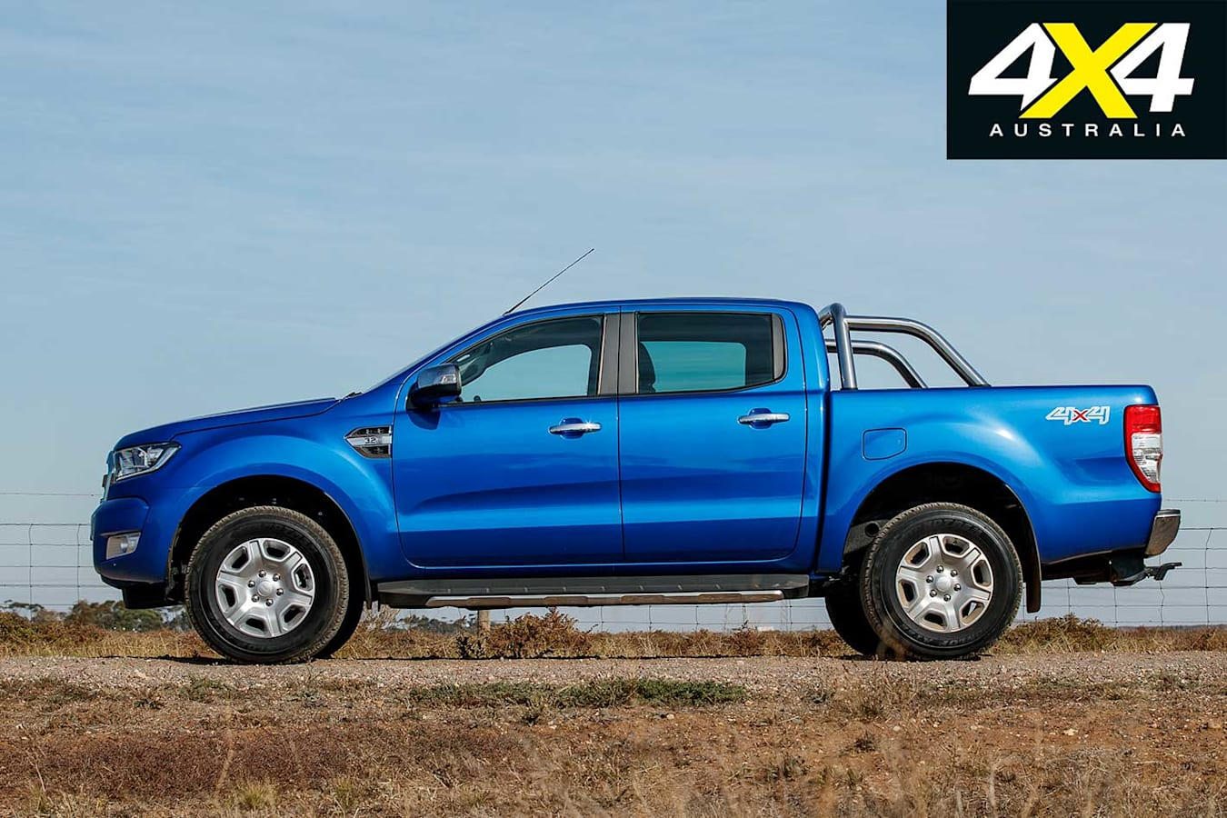 Mid 2018 4 X 4 Sales Report Card Ford Ranger Side Profile Jpg
