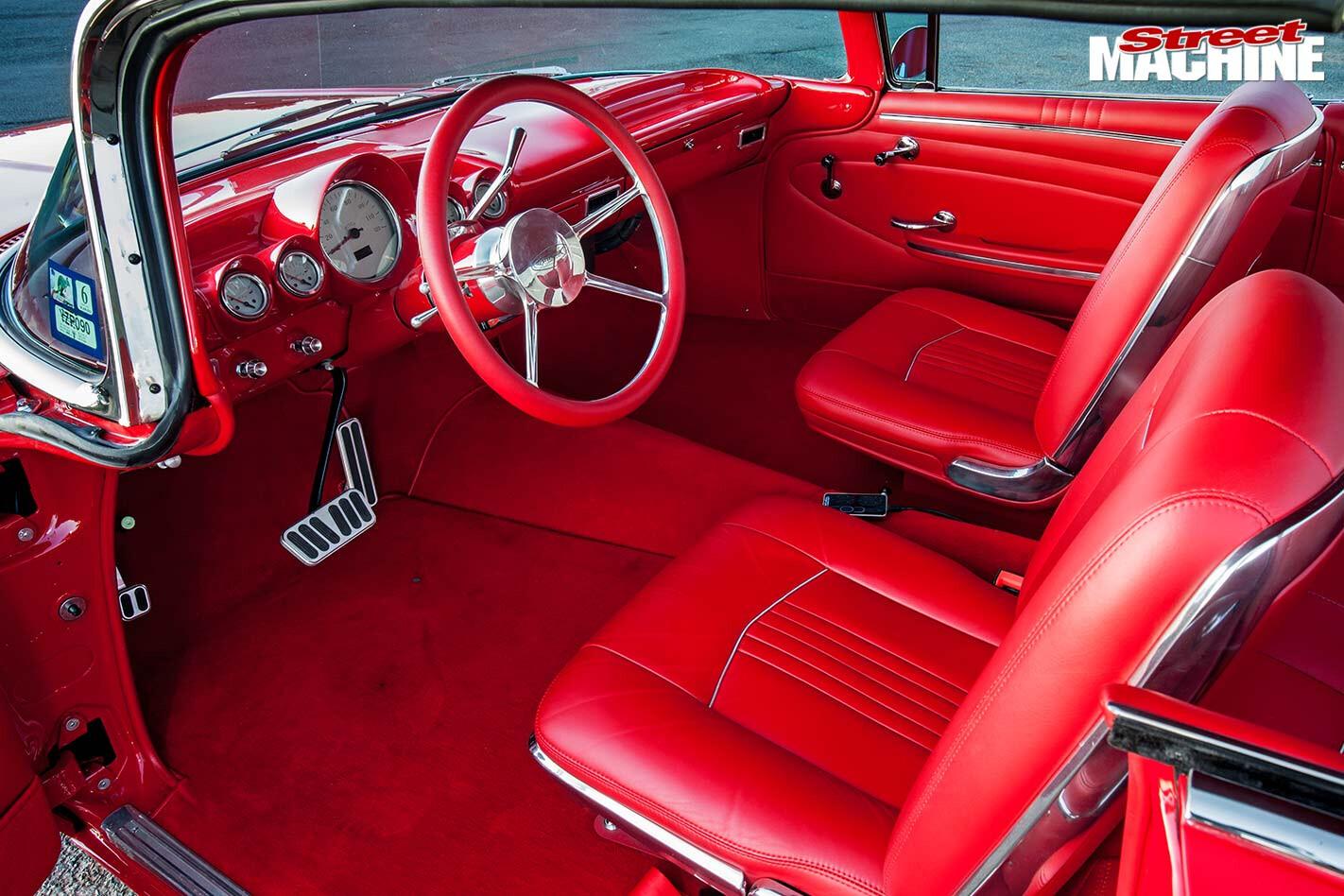 Chev Impala interior