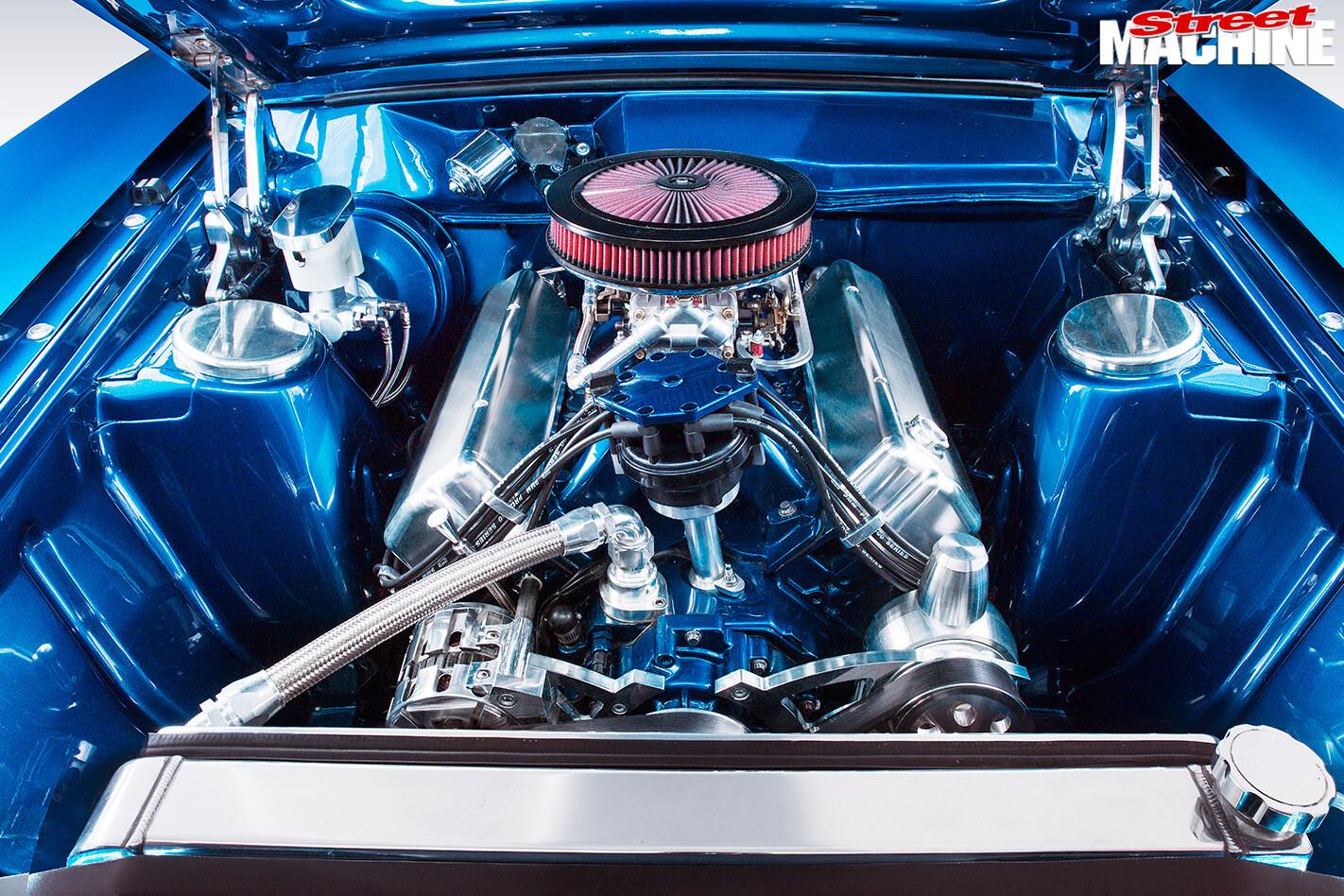 Ford -XB-Falcon -Fairmont -GS-engine -bay
