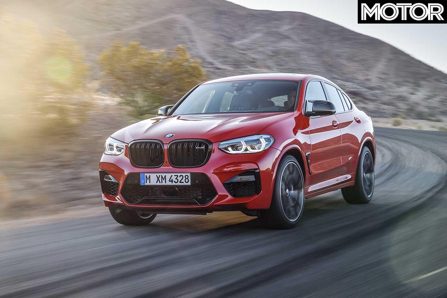 2020 BMW X 4 M Front Dynamic Jpg