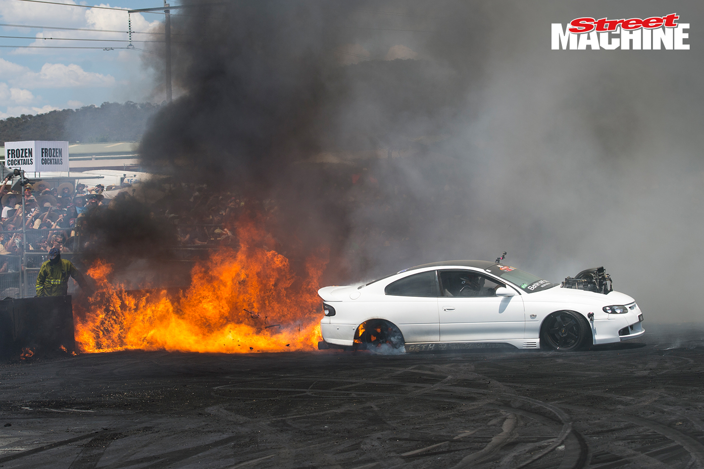 Fear Monaro Burnout Fire Nw