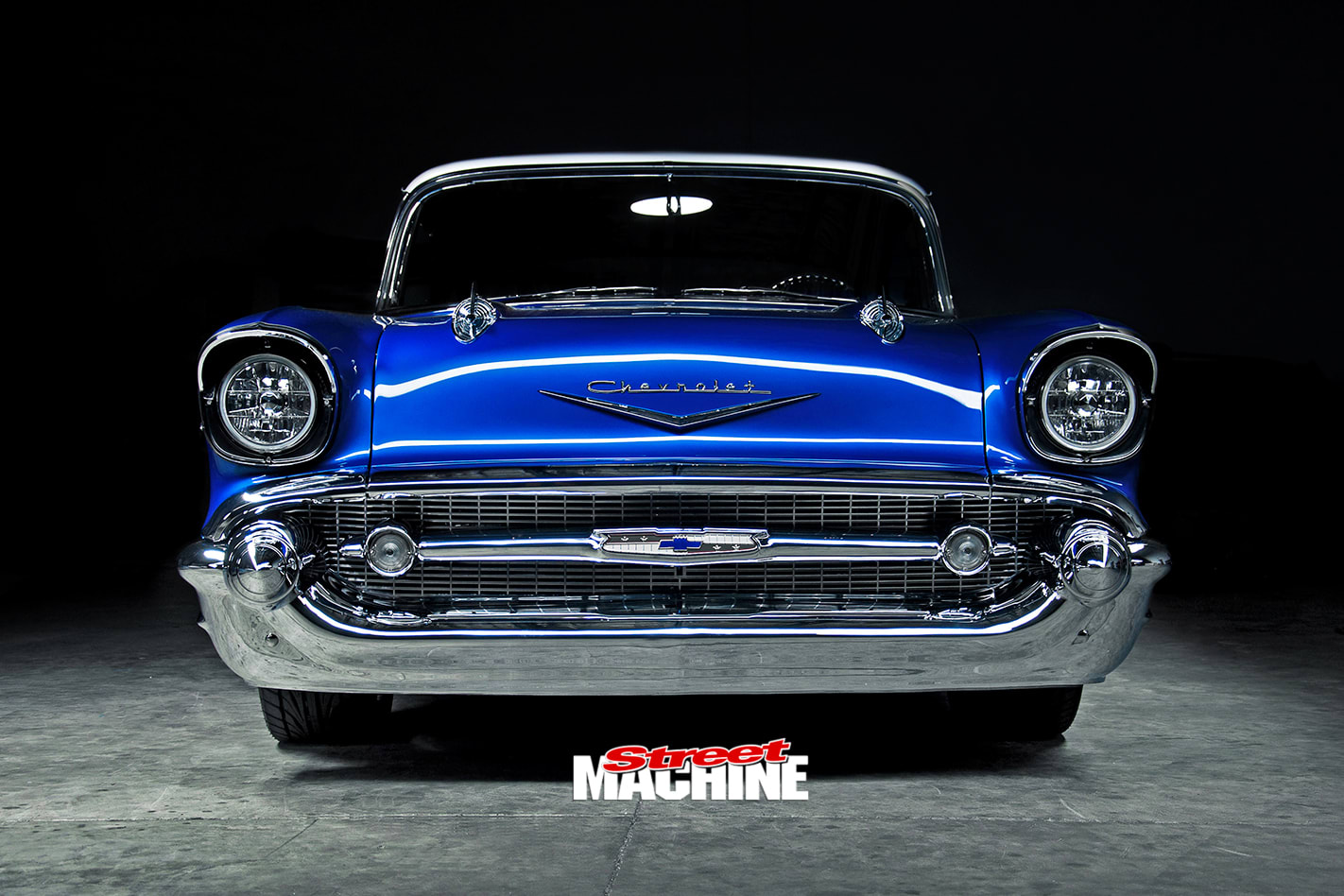 Chevrolet -Bel -Air -front -view