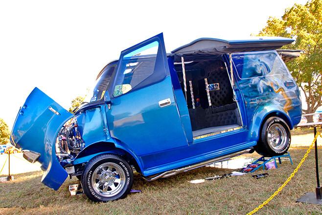 Mystic Fantasy Bedford van