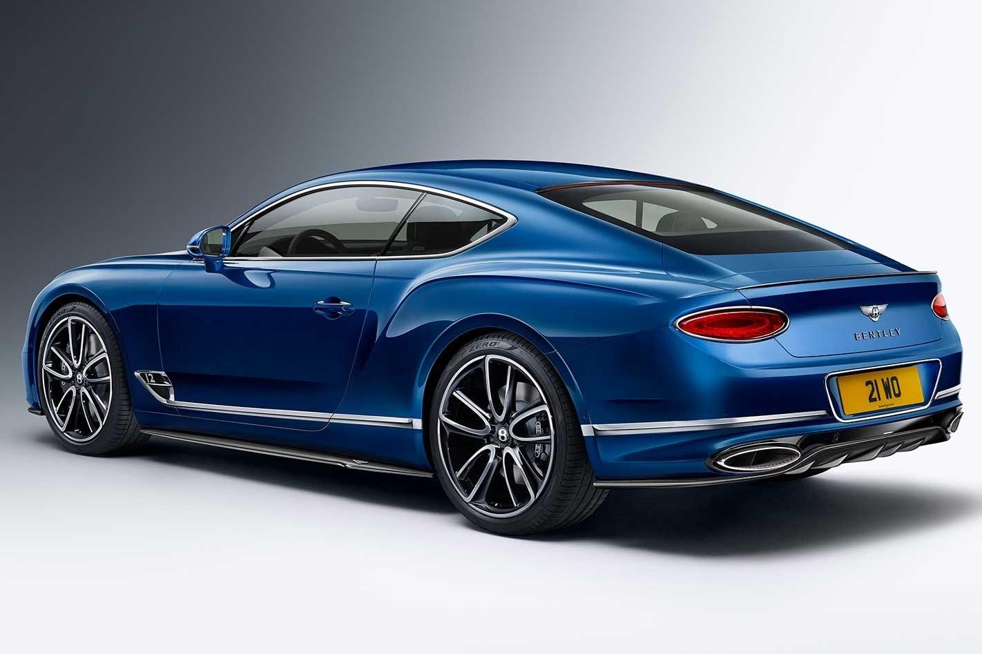 Bentley Continental Bentayga carbon styling