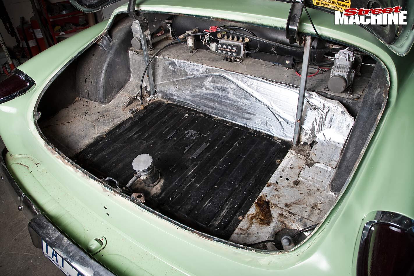 Chev sedan boot