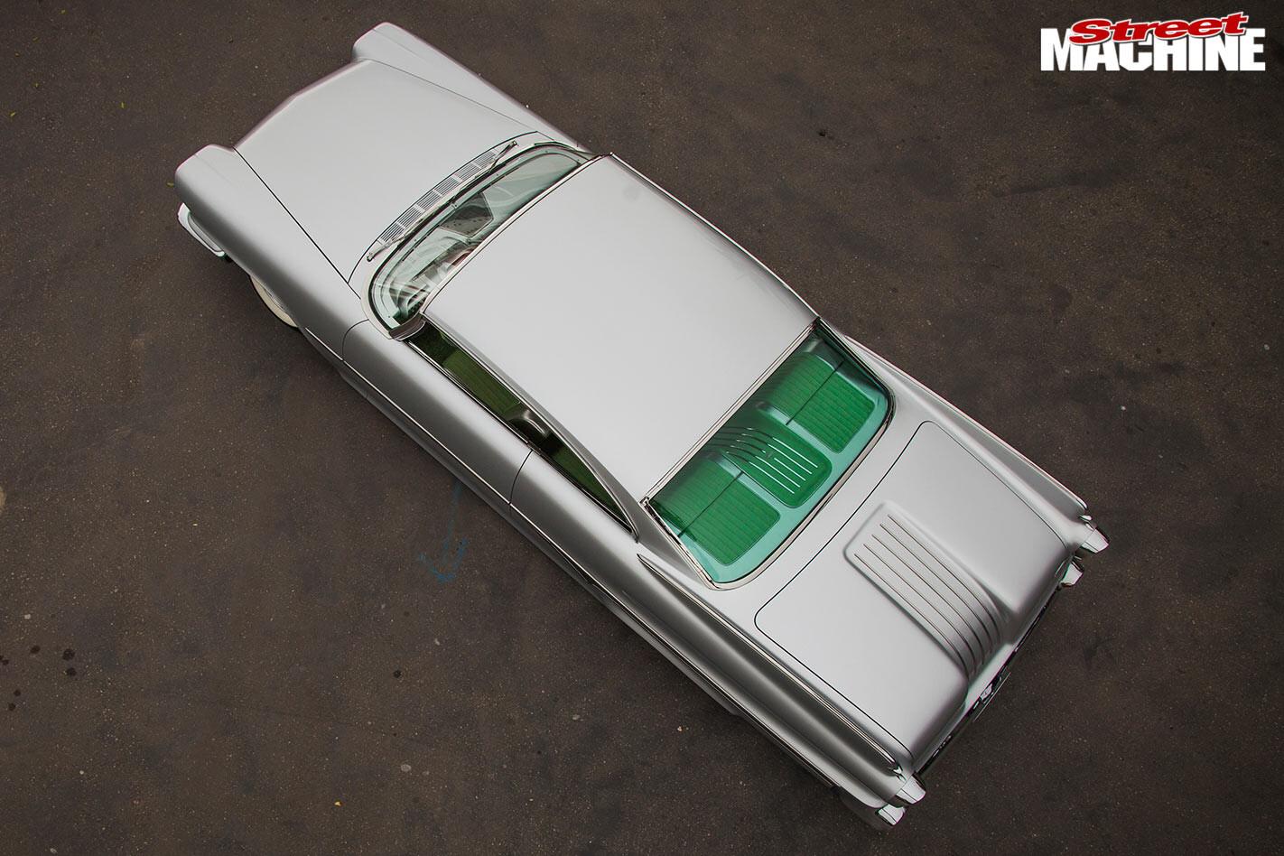 Dodge Dart top view