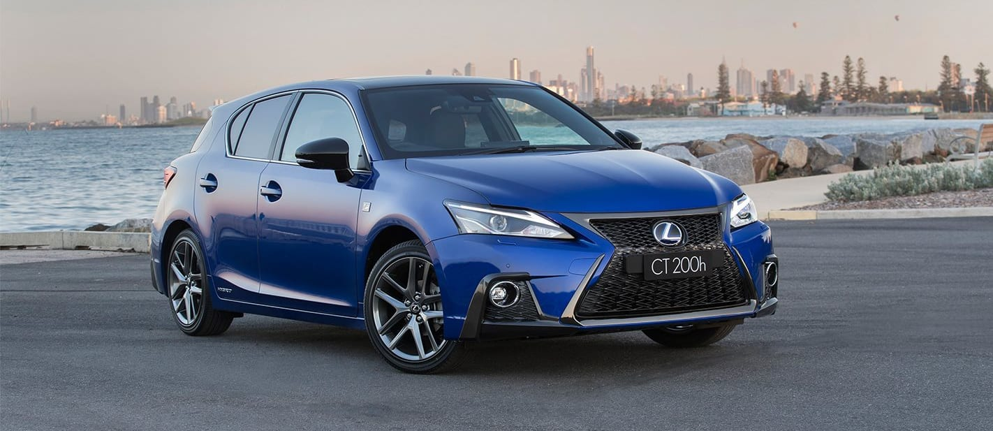 Lexus CT 200h pricing and features