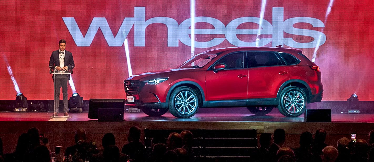 Wheels Car of the Year announcement at Australian Motoring Awards