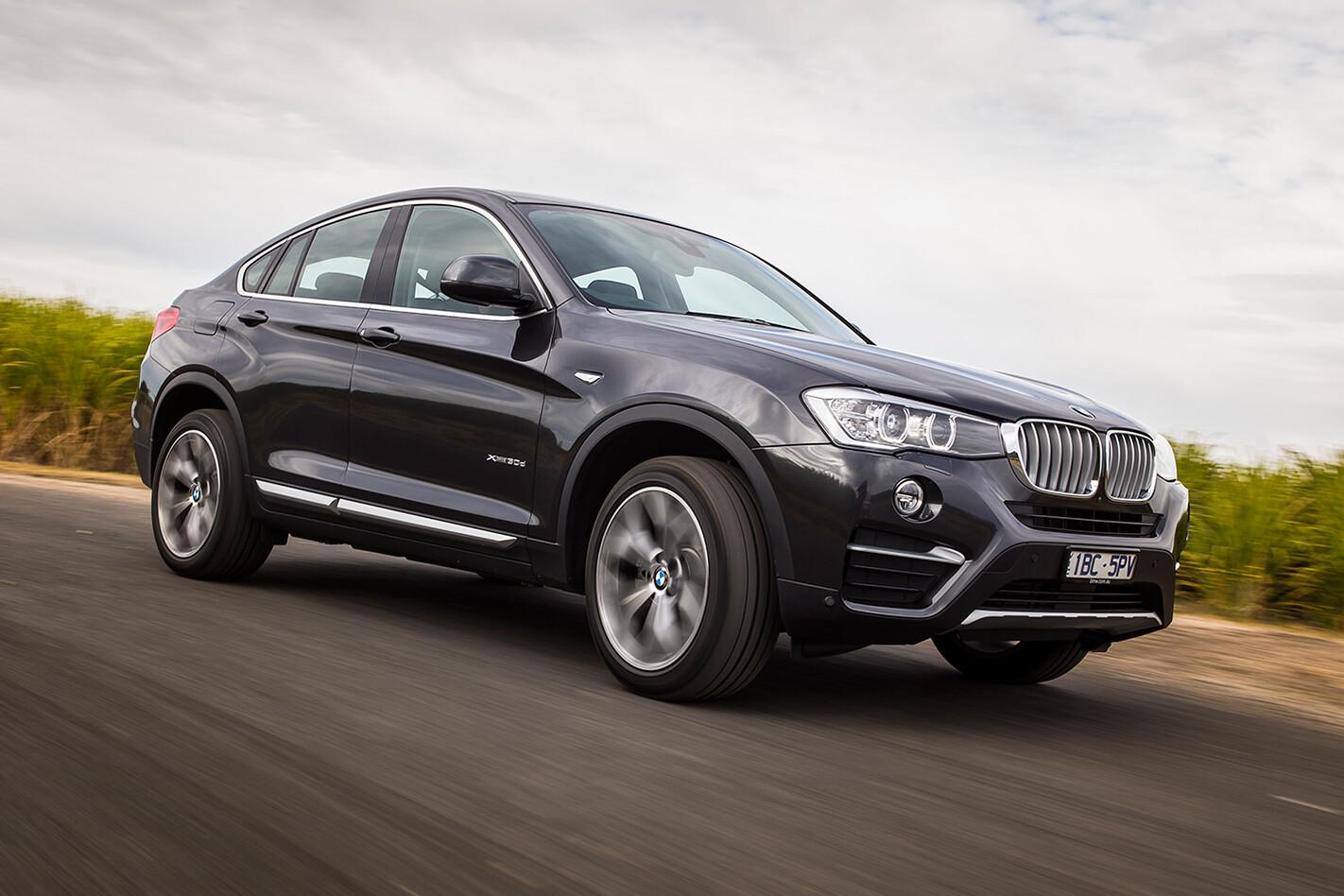 BMW X4 test drive review