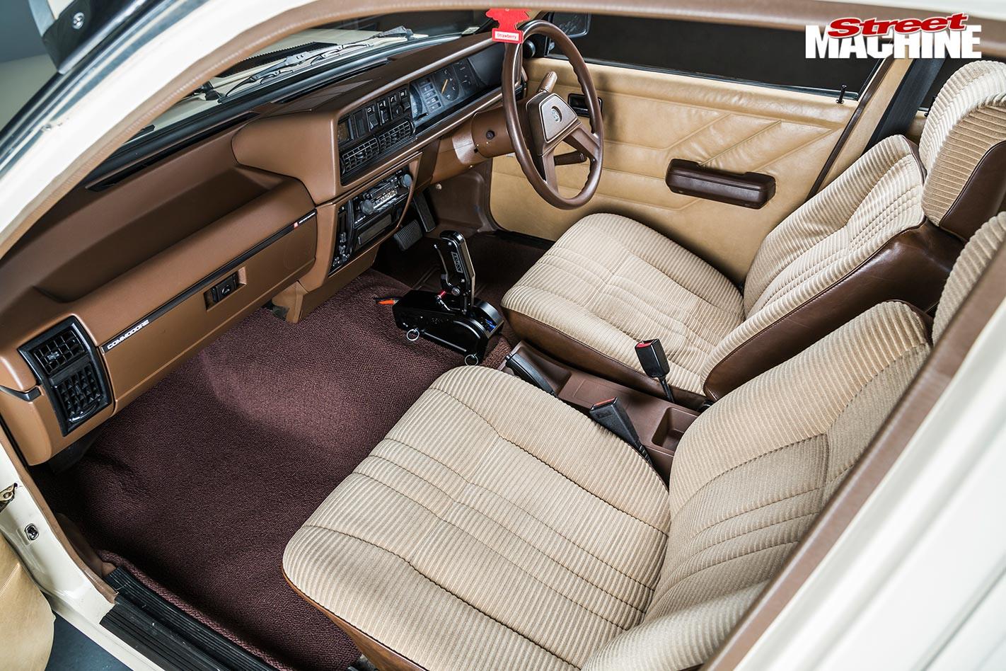 Holden Commodore interior front