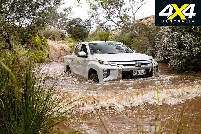 2020 4 X 4 Of The Year Mitsubishi Triton GLS Water Crossing Jpg