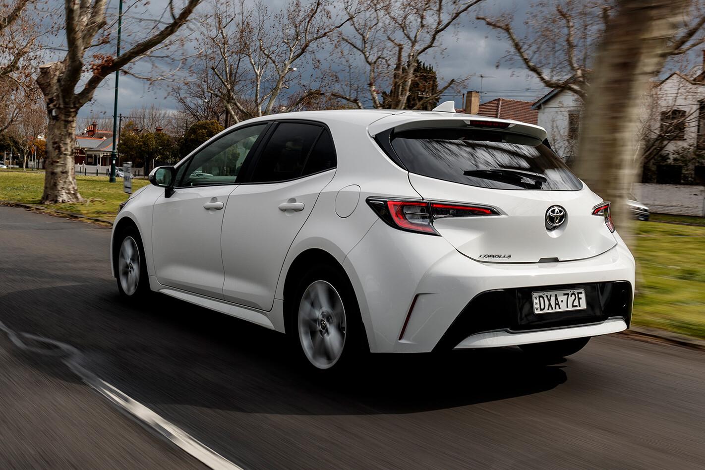 Toyota Corolla Rear Low Jpg