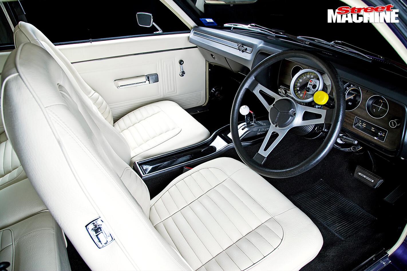 Chrysler -vk -valiant -charger -interior -front -drivers -side