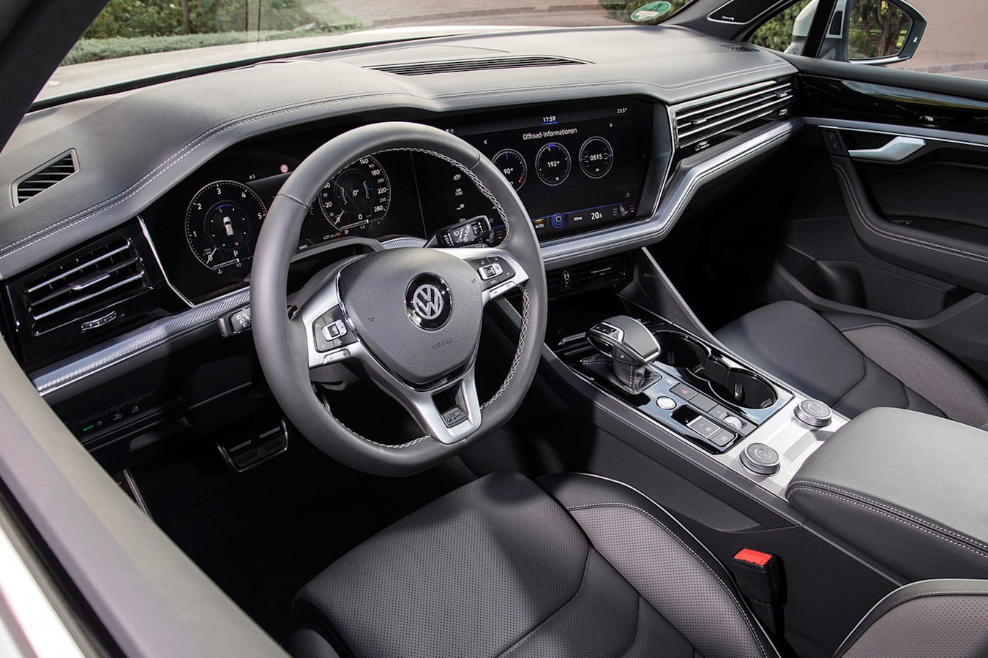 Volkswagen Touareg Interior Jpg