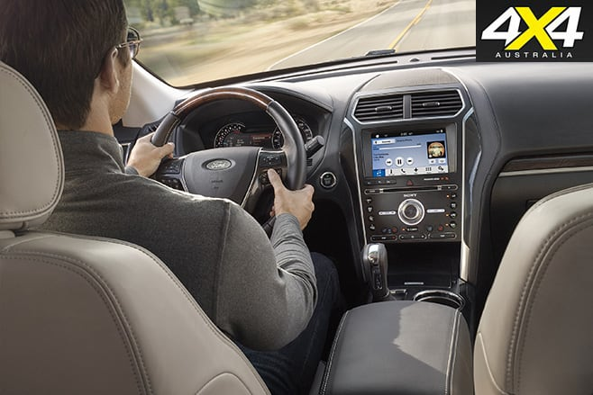 Driving the Ford Explorer