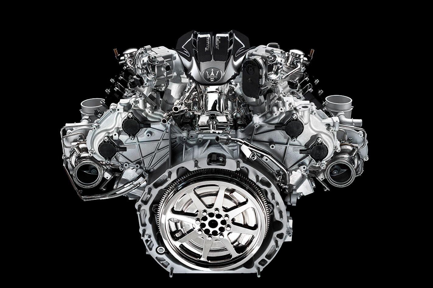 2021 Maserati MC20 Nettuno V6 engine