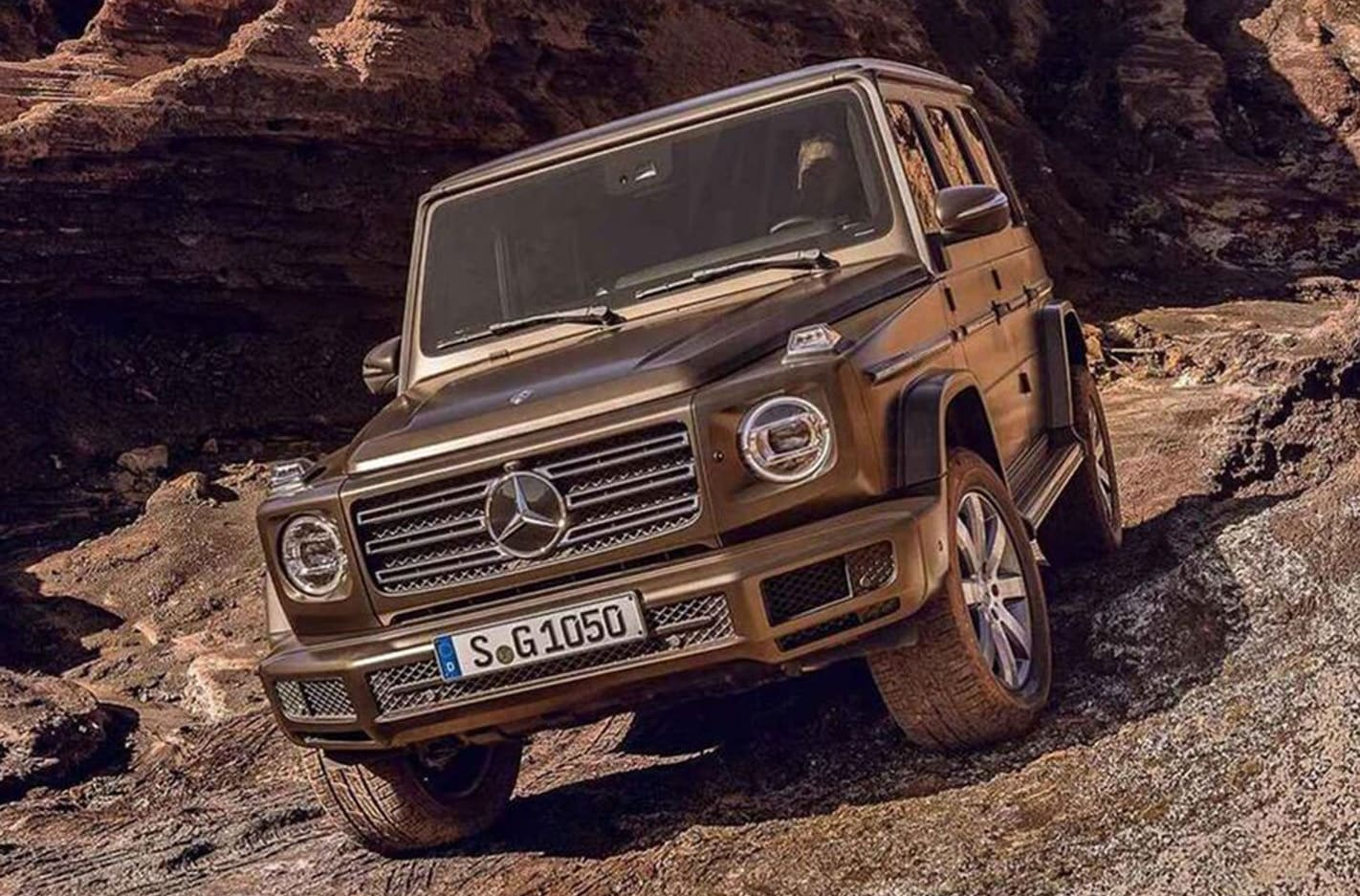 2018 Mercedes Benz G Class images leaked main