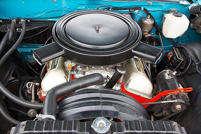 Chev Bubbletop engine