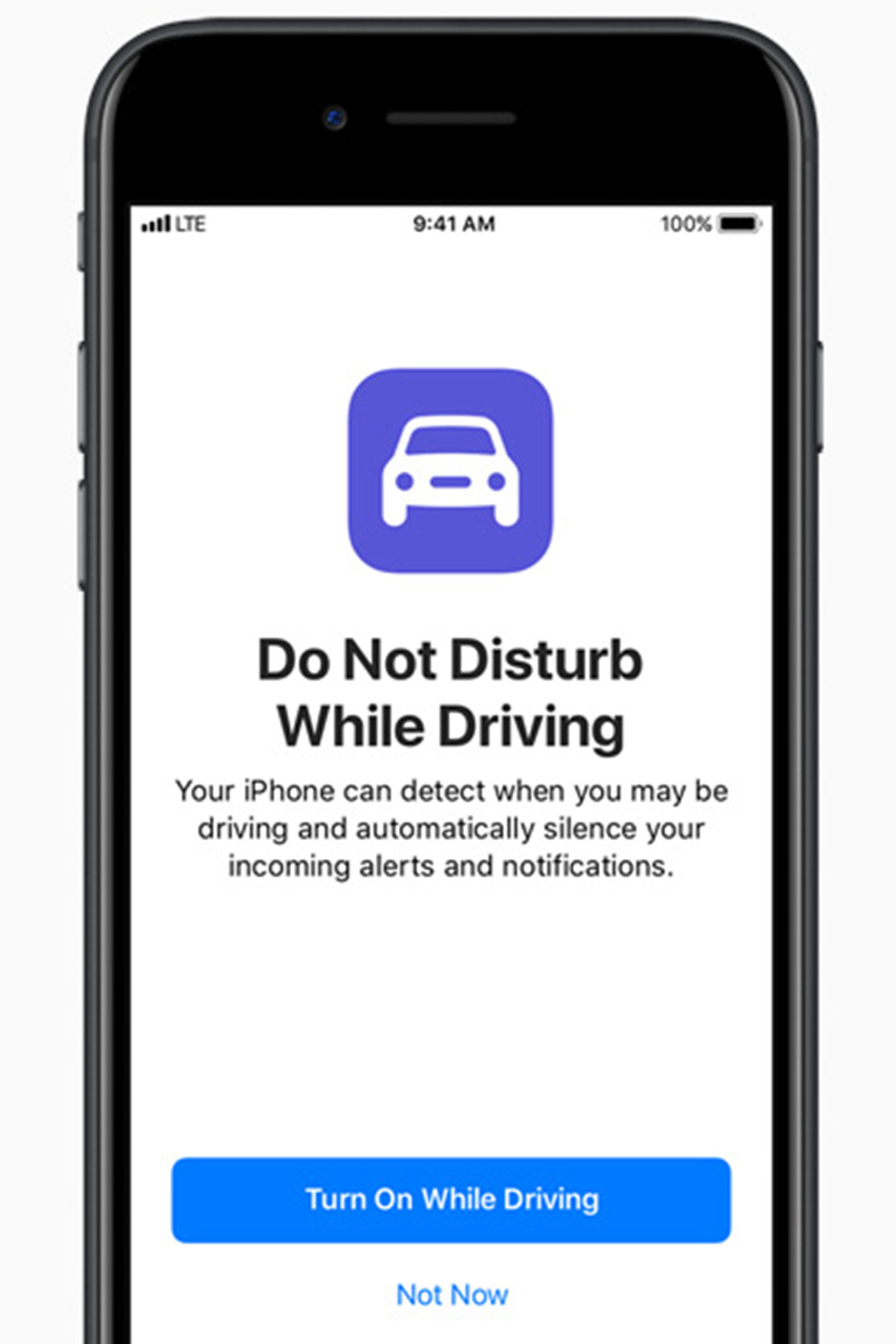 Apple adds distracted driver software to the iPhone