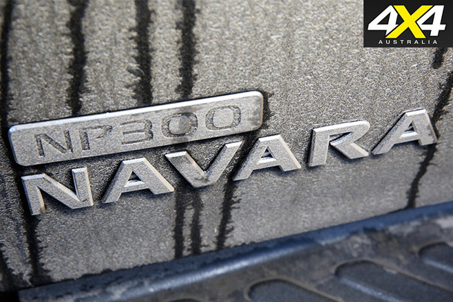 Nissan -navara -badge
