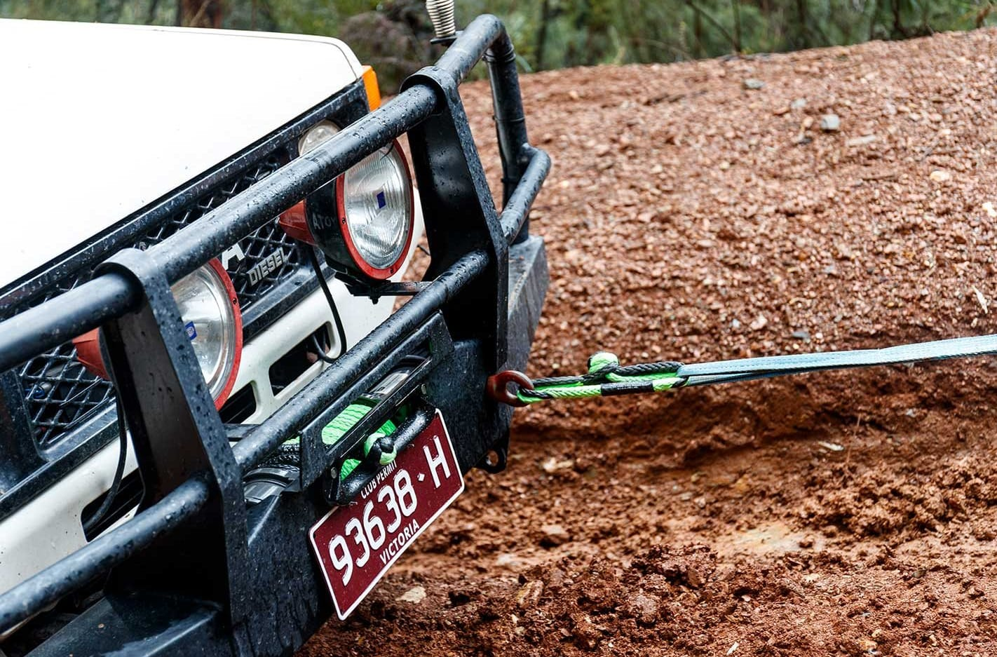 Bubba Rope Pro Line winch rope product test