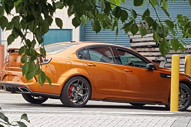 Holden -Commodore -GTS-R-parked