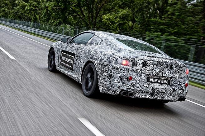 BMW M8 prototype