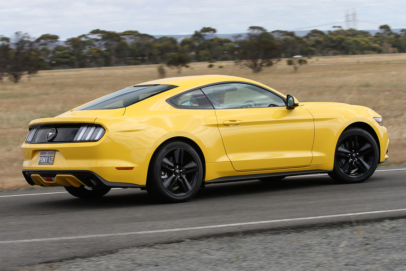 Ford -Mustang -Ecoboost -rear