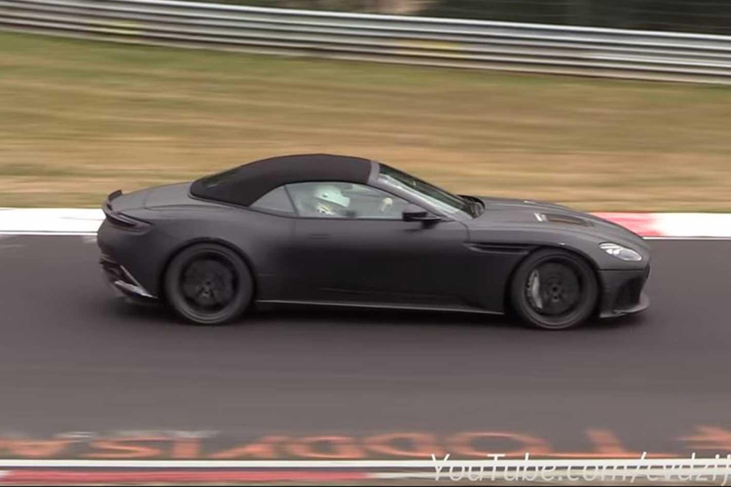2019 Aston Martin DBS Superleggera Volante Side Profile Jpg