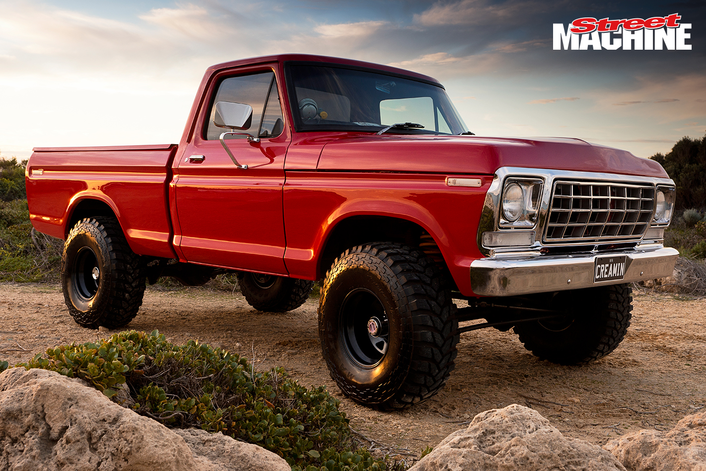 Ford F100 Lifted 351 6
