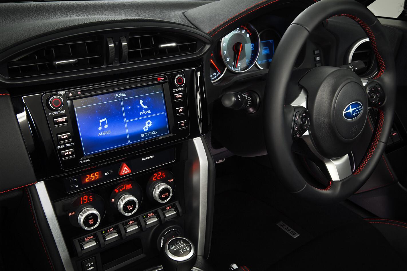 Subaru Brz Ts Interior Jpg