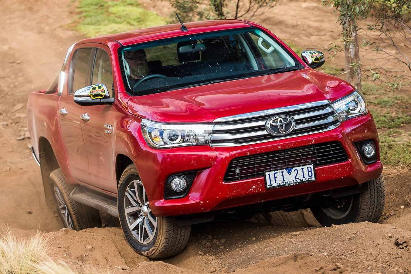 Toyota Hi Lux Front Jpg