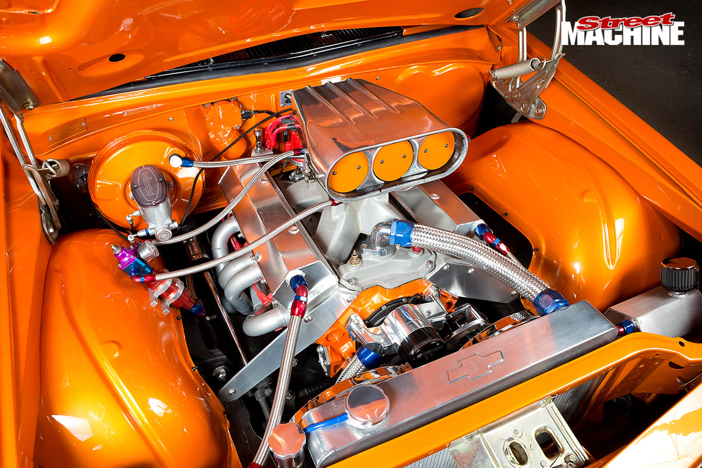 400-Cube -Holden -HQ-One -Tonner -engine -2