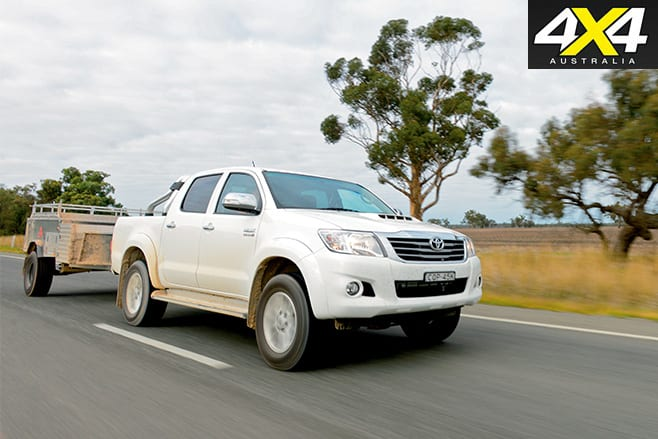 Driving the Toyota Hilux