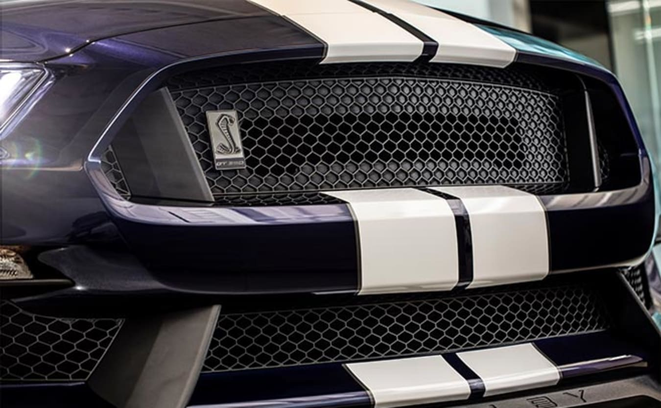 2019 Ford Mustang GT350 grille