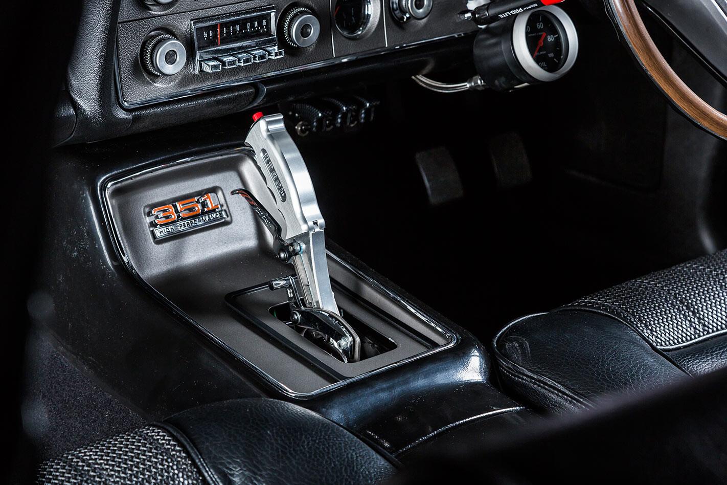 Ford Falcon XY shifter