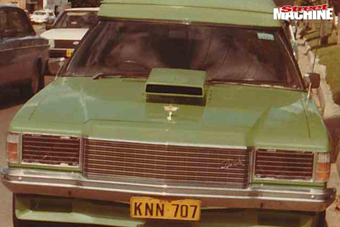 Holden HZ panel van