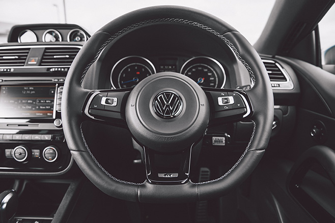 Volkswagen Scirocco R Steering Wheel