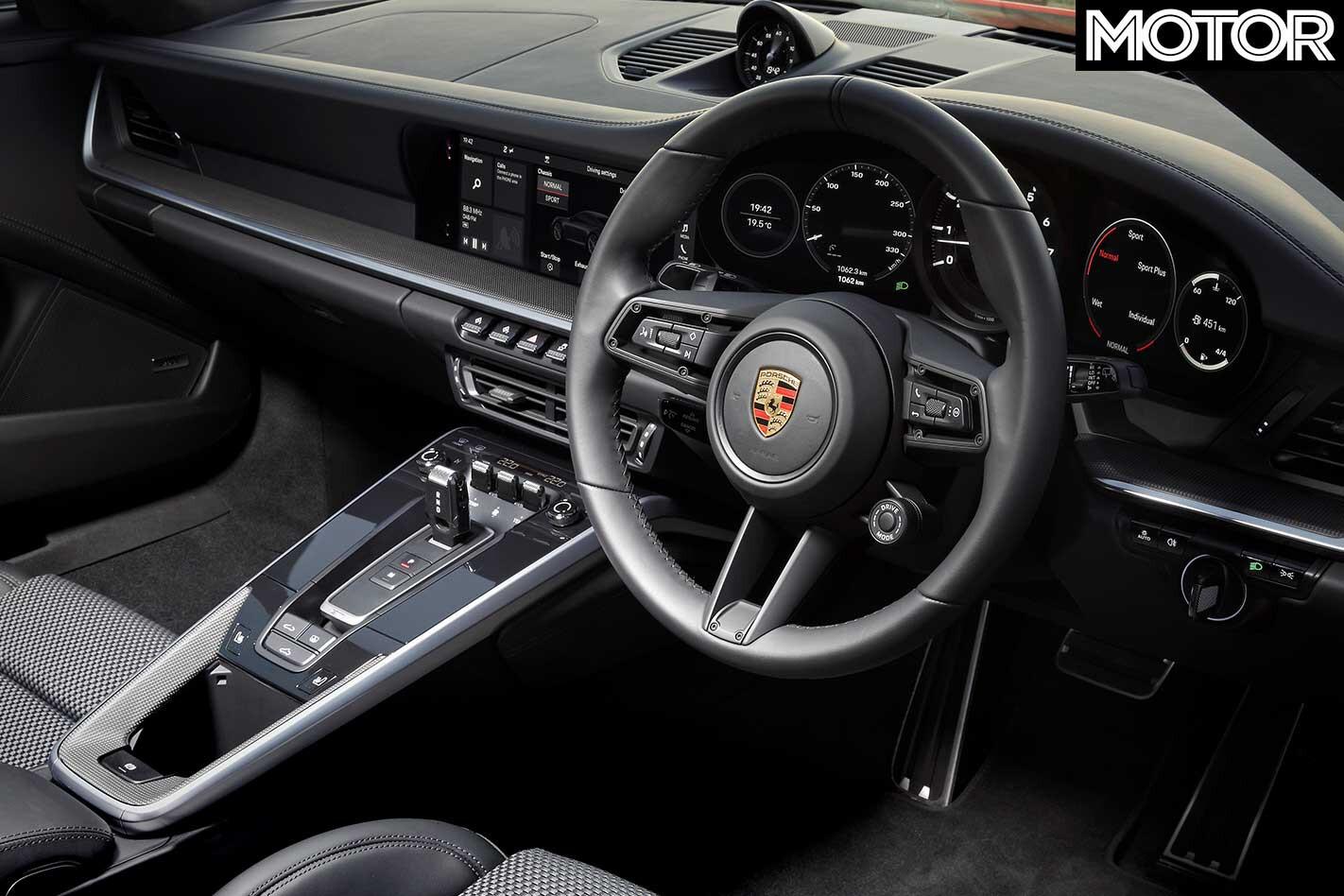 2019 Porsche 911 Carrera S Dashboard Jpg