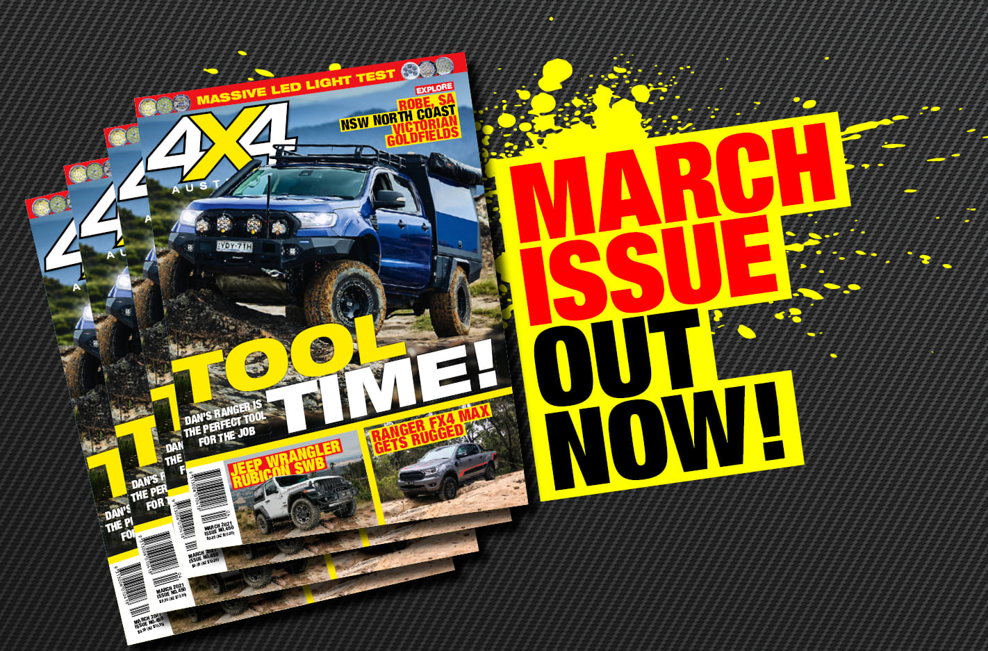 March 2021 issue of 4X4 Australia