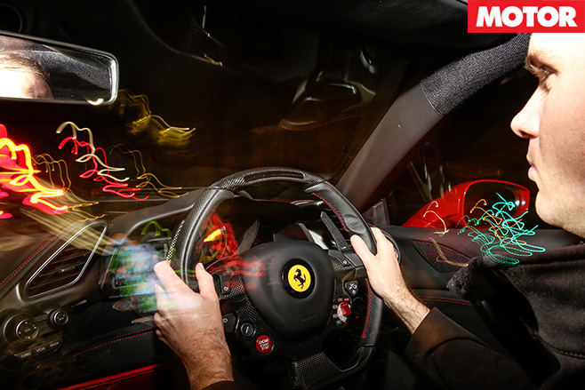Driving the Ferrari 488 GTB