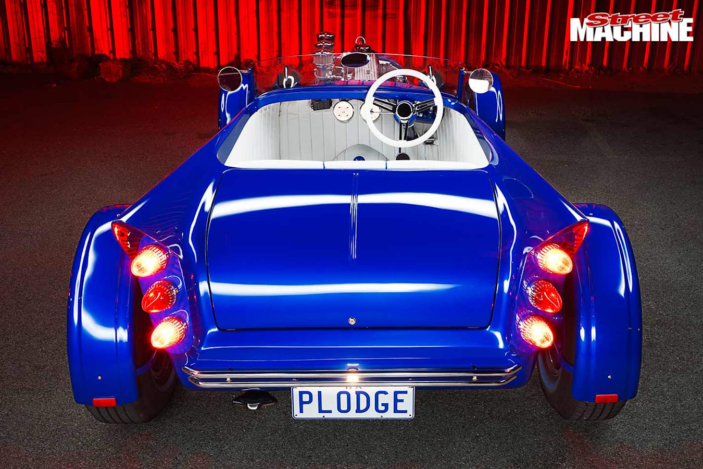 Dodge Roadster Voodoo rear