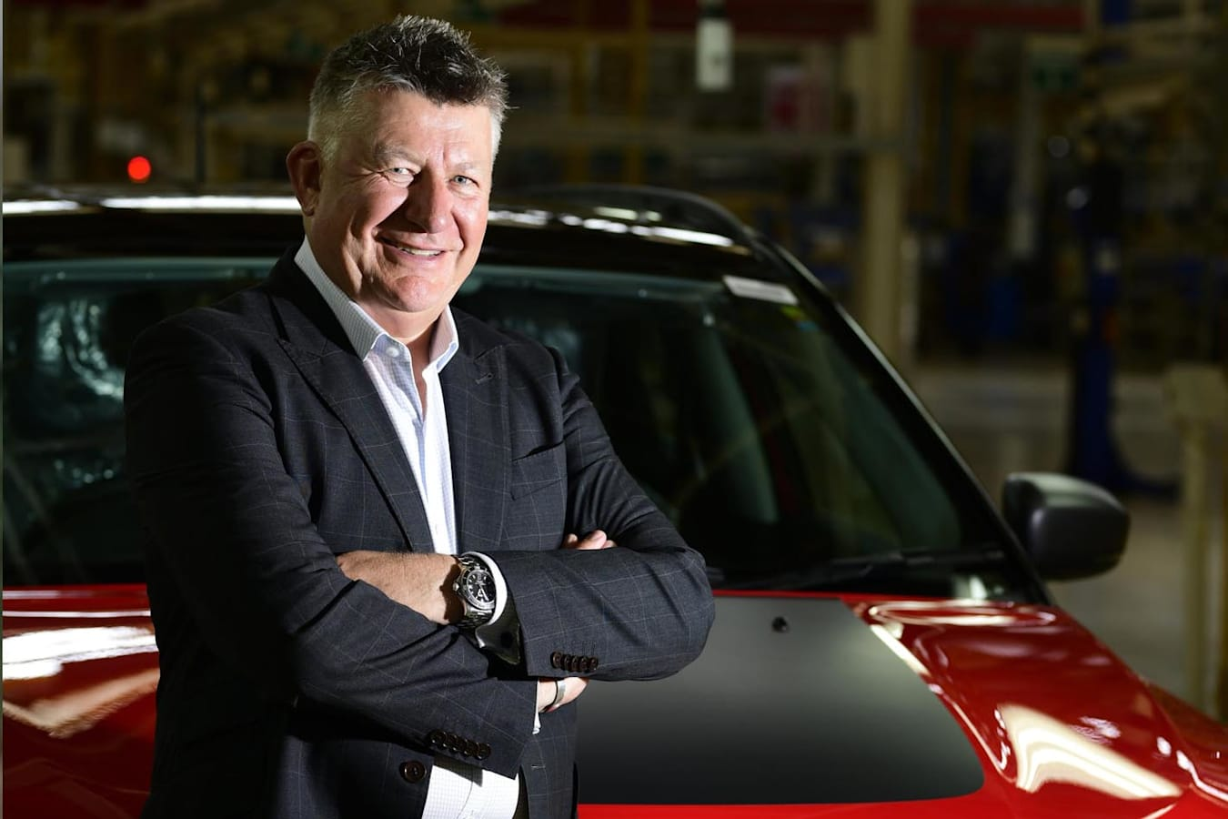 FCA managing director and CEO Kevin Flynn