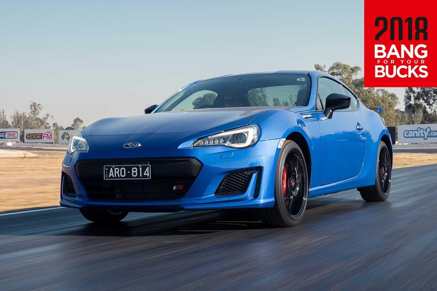 2018 Subaru BRZ tS track review