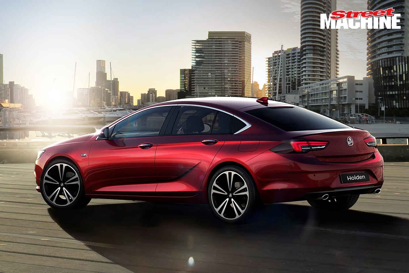 2018 Holden Commodore Side 1