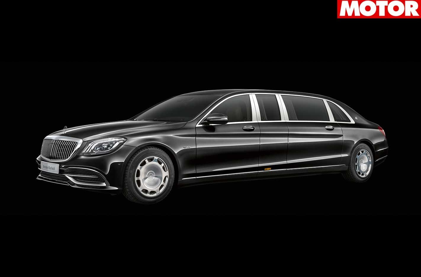 2018 Mercedes Maybach Pullman revealed