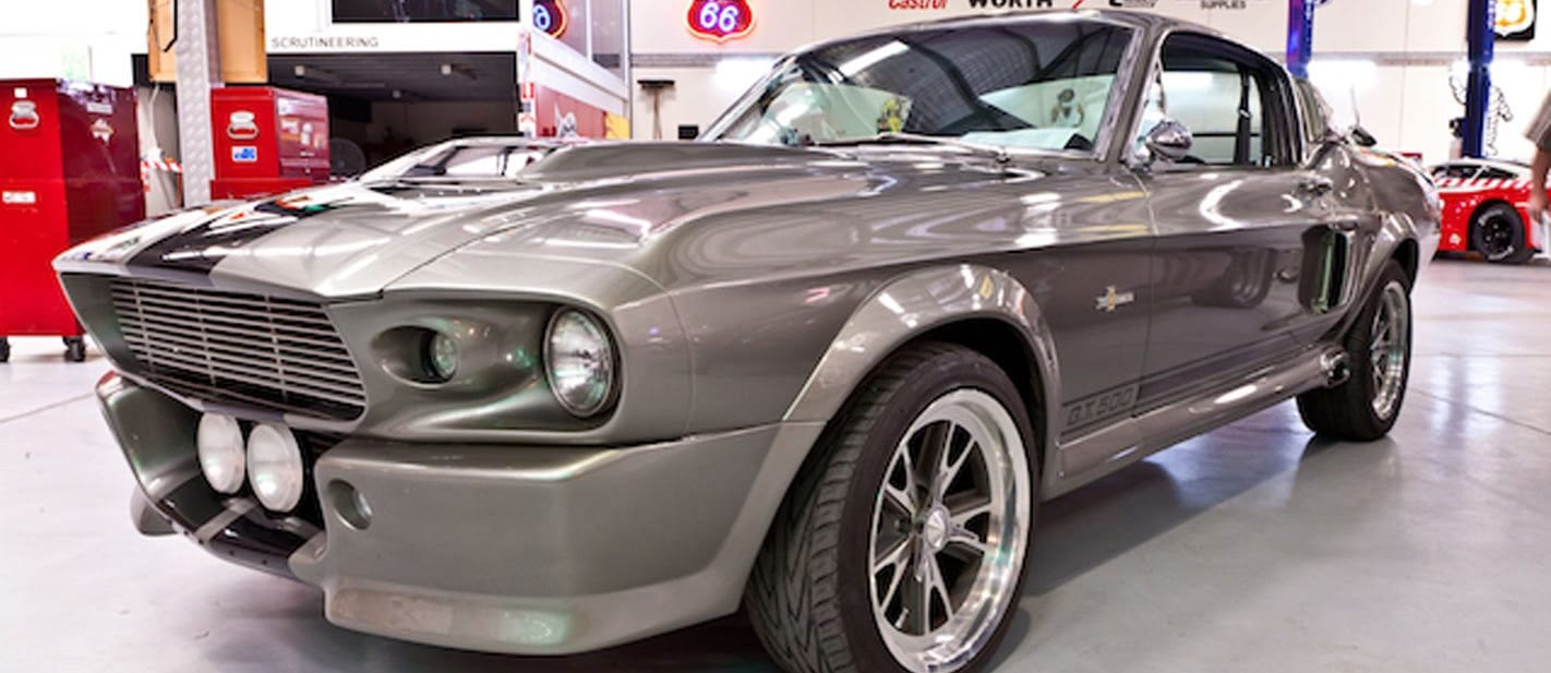 harris museum auction mustang 1